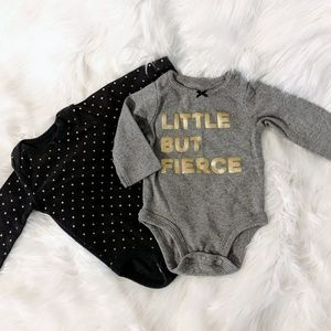 Carter's 3 month onsie bundle